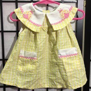 🏖 3/$10 Little Lindsey Dress Size 12m